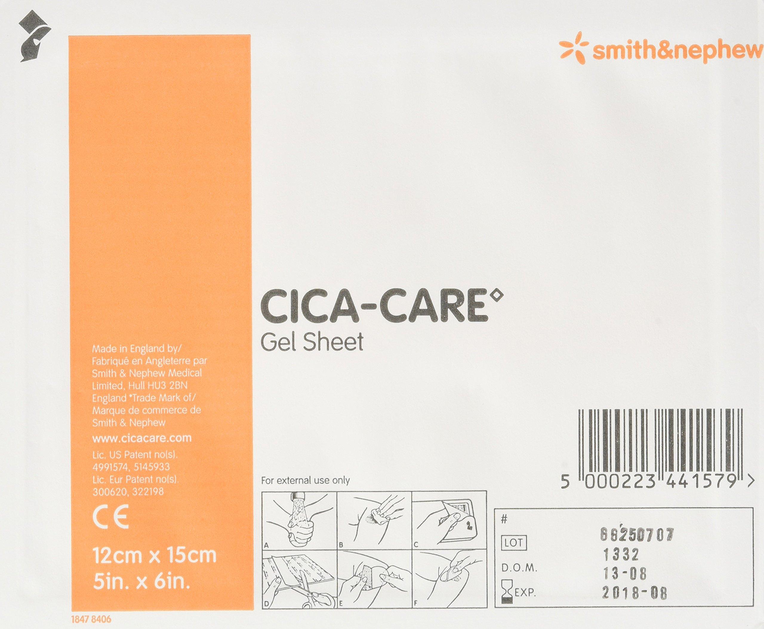 CICA-Care Silicone Gel Sheeting 12cm X 15cm by SMITH & NEPHEW INC.