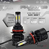 New Super Bright COB LED Chip 8000LM Headlight Conversion Kit - Cool White 6000K 6K - Dual Hi / Lo Beam - 9007 / HB5