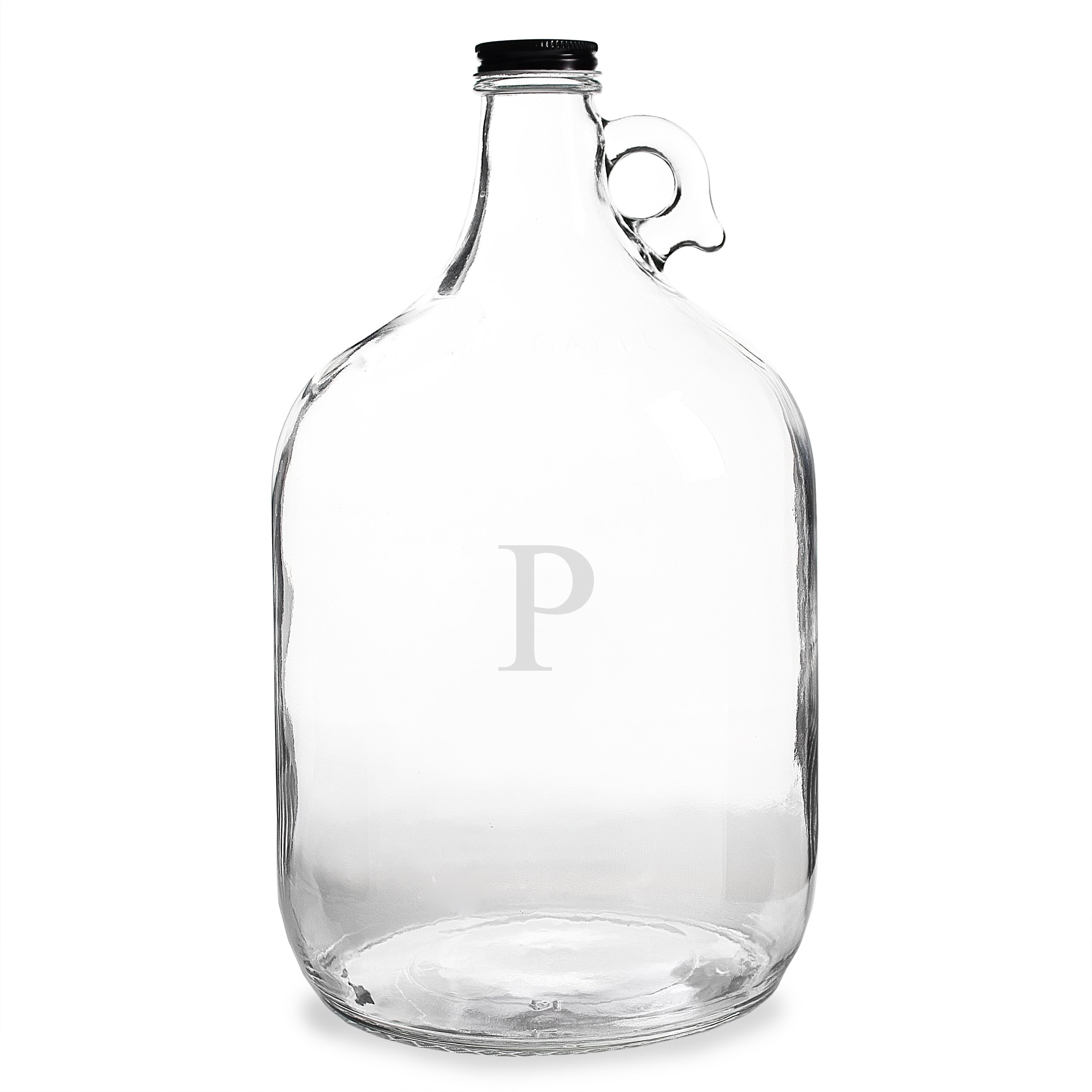 Cathy's Concepts Personalized One Gallon Growler, Letter P
