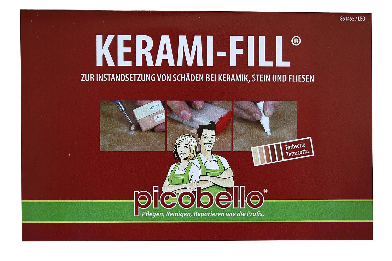 nuovo autentico a piedi a più tardi Picobello - Kit di riparazione a riempimento per ceramica, adatto ...