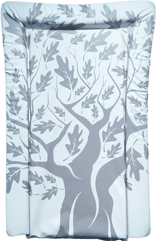 The Gilded Bird Colchoneta cambiador para beb/é Floral blanco
