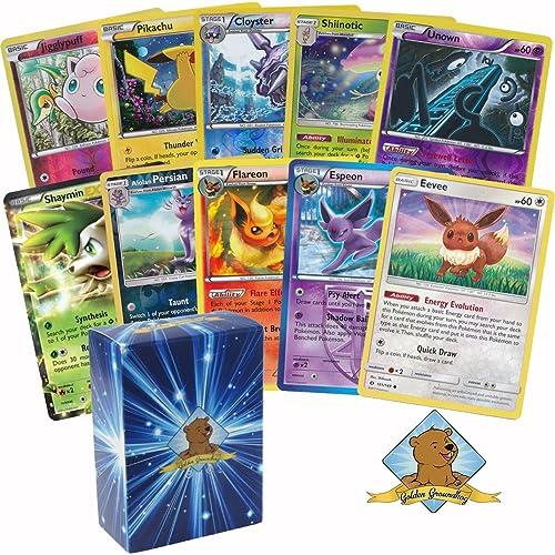 30 Pokemon Card Pack Lot Includes Eevee 3 Random Evolutions 7 Reverse Foils