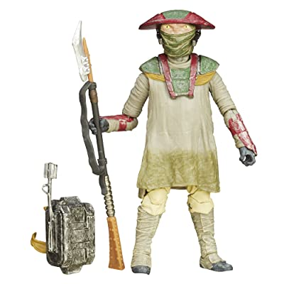 Star Wars: The Force Awakens Black Series 6 Inch Constable Zuvio: Toys & Games