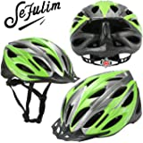 Sefulim Specialized Cycle Helmet Adult Racing Bike Cycling Helmets by Adjustable Size for Girls Boys Spectacle