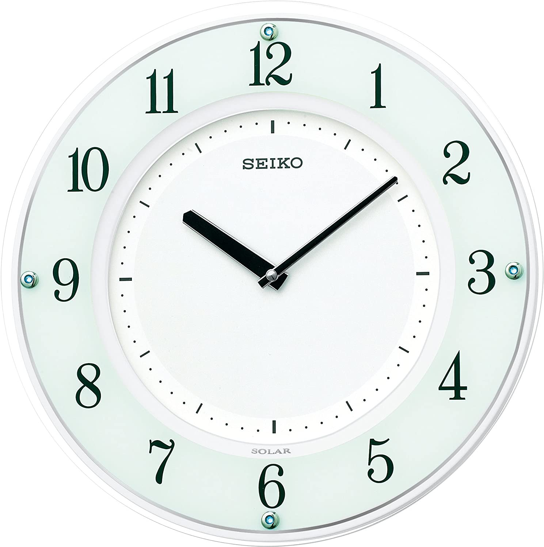 Long-awaited Seiko Clock Hanging Solar Wooden Thin Ranking TOP4 Fra Plus