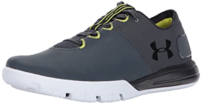 Mens Charged Ultimate 2.0, Stealth Gray/Black/Black, 13 D(M) US Under Armour