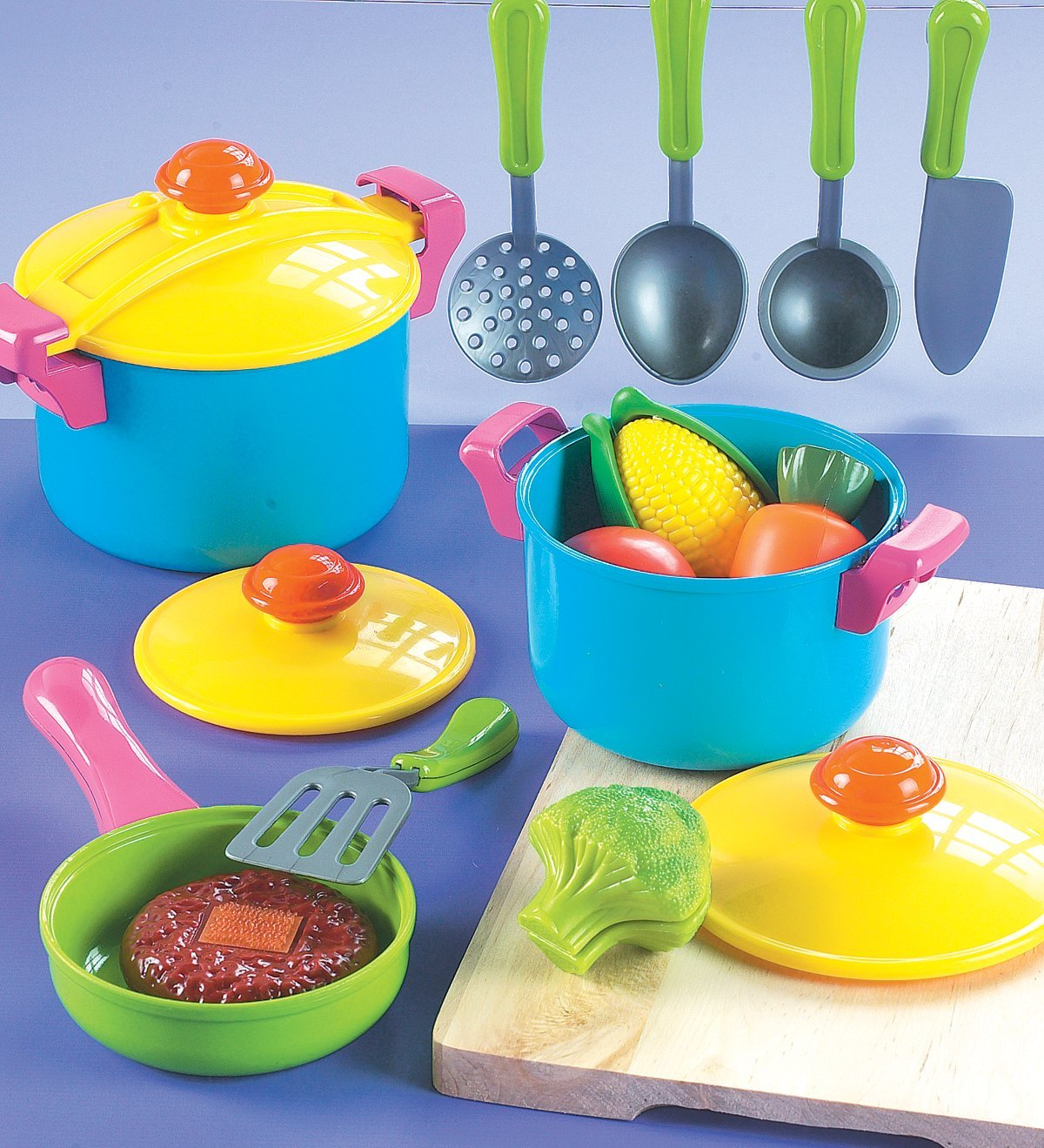 Small World Toys Living - Young Chef Cookware 11 Pc. Playset by Small World Toys