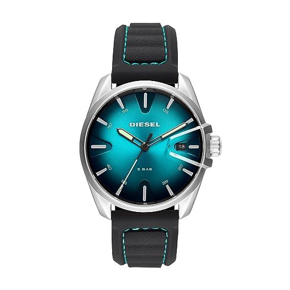 Diesel Reloj Analógico para Hombre de Cuarzo con Correa en Silicona DZ1861: Amazon.es: Relojes