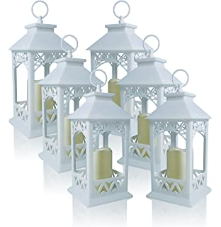 Amazon.com : 20 WHITE WEDDING LANTERN CENTERPIECES FAVORS NEW ...