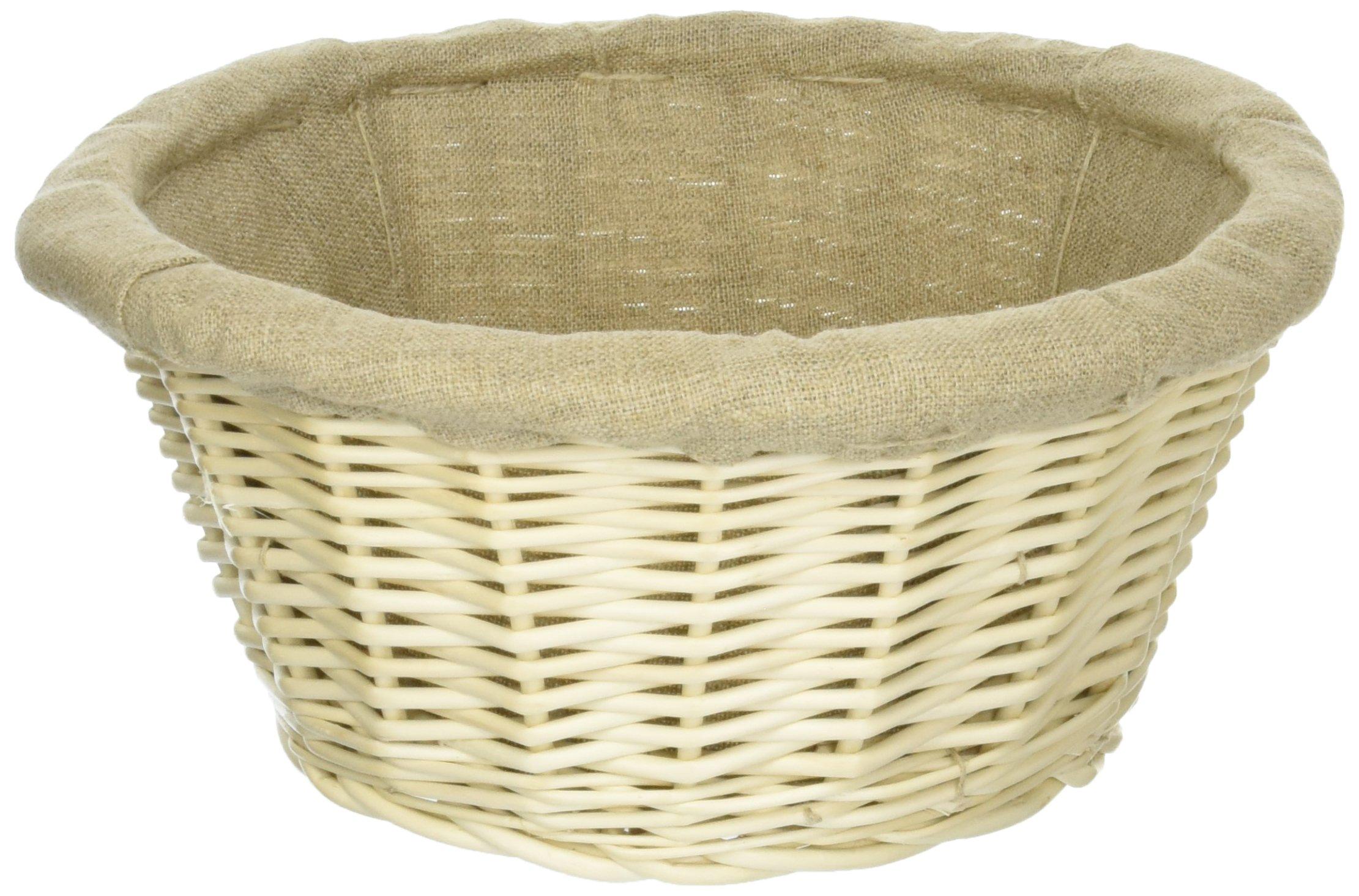 Matfer 10 5/8 Inch Banneton Line Lined Basket