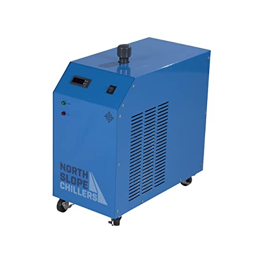 North Slope Chillers – NSC0250-FROST 1 4 Ton HP Light-Duty Portable Industrial Glycol Chiller, 1.5 Gallon Reservoir Capacity, 3.5 GPM Max