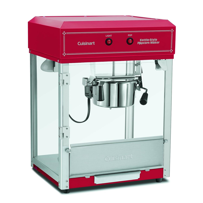 Amazon.com: Cuisinart CPM-2500 Kettle-Style Popcorn Maker, Red ...