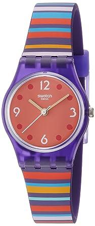 Swatch Quarz Lv119 Mit Silikon Damen Armband Digital Uhr ED2YeWH9I