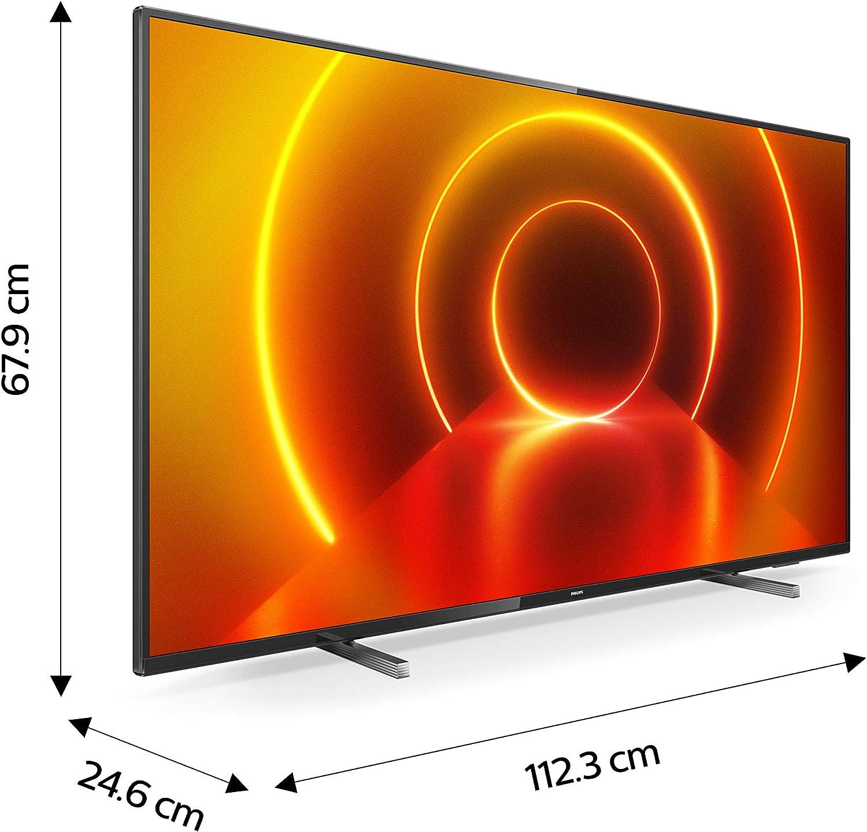 Tv philips 50pulgadas led 4k uhd - 50pus7805: Amazon.es: Electrónica