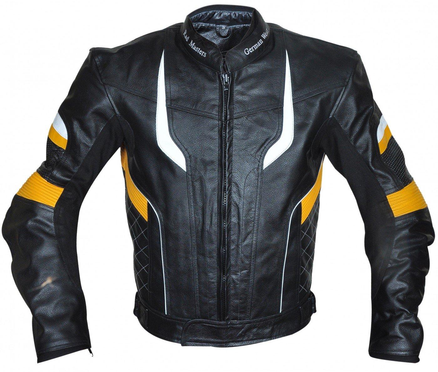 German Wear/ /Chaqueta de moto chaqueta de piel chopper Chaqueta Cruiser