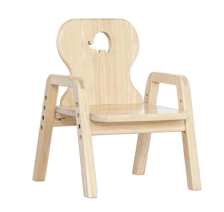 Motiv Stern Mitwachsende Kindersitzgruppe, Stuhl Einzeln 100/% Massivholz