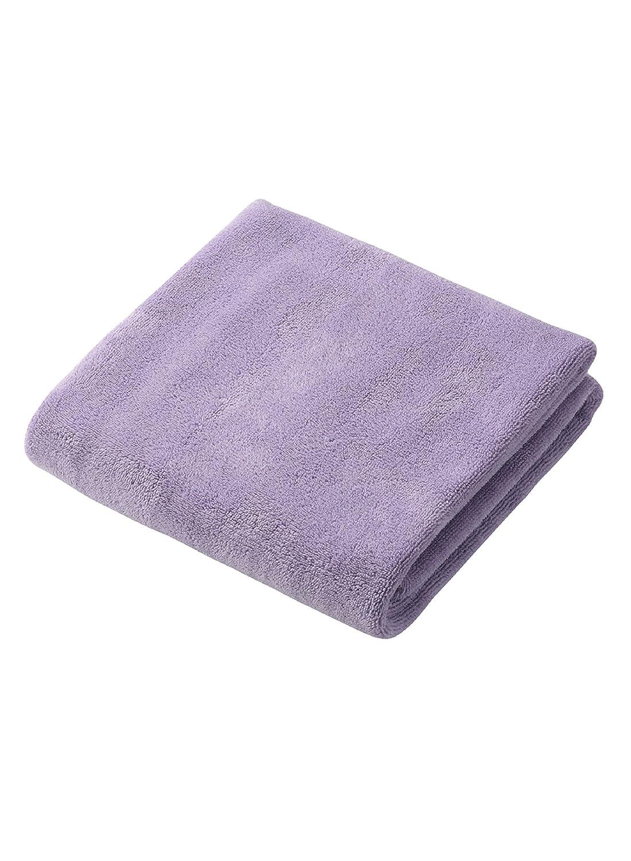 Capelli secchi asciugamano in microfibra viola 100 x 40cm (japan import)