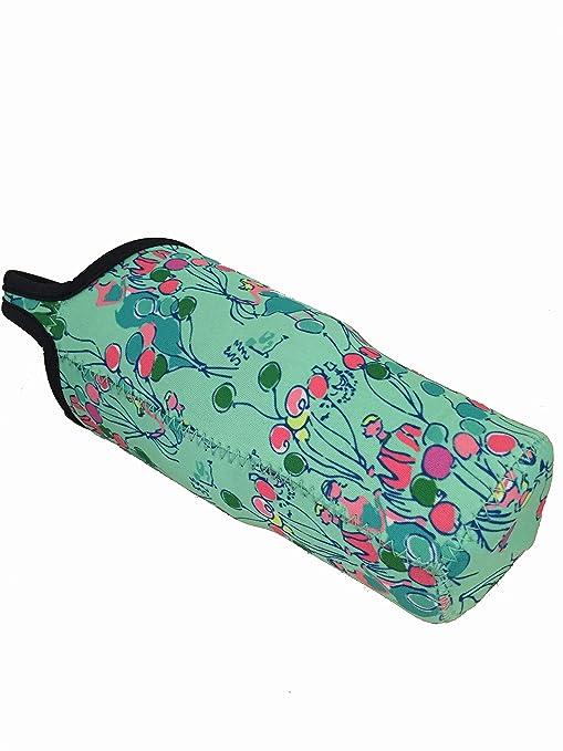 aa75cc73786bde Amazon.com | New Lilly Pulitzer Neoprene Bottle Carry Bag for Rtic/YETI/Barbapapa  Tumbler Rambler 30oz: Coffee Cups & Mugs