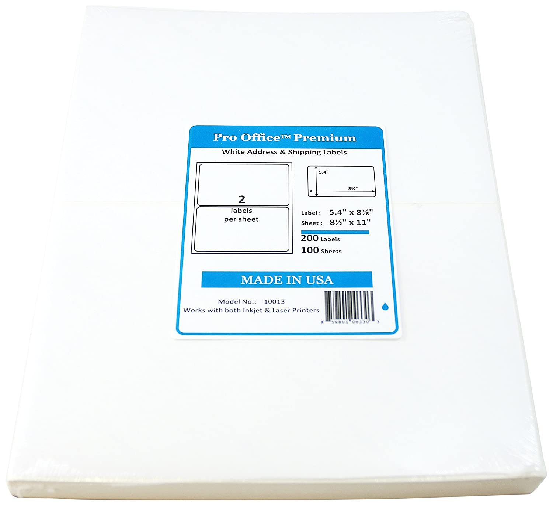 70 off pro office premium 200 round corner blank half page self