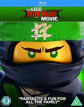 The LEGO Ninjago Movie Blu-ray + Digital Download 2017