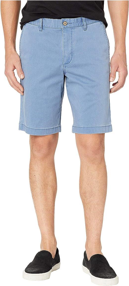 Tommy Bahama Mens Boracay Flat-Front 10-Inch Shorts Khaki
