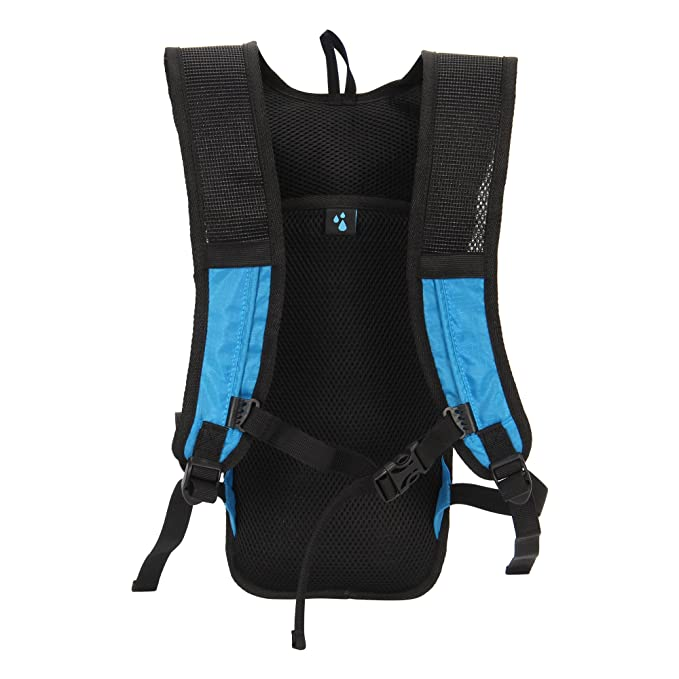 Amazon.com : Veevanpro Hydration Pack with 2L Water Bladder for Outdoor Activities Blue : Sports & Outdoors