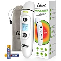 Forehead Thermometer for Adults and Kids - Ear Forehead - 2020 Revolutionized Algorithm - Clinical Accuracy Instant Read Digital Infrared Thermometer