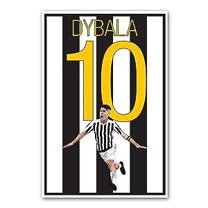 Paulo Dybala Poster - Juventus Art