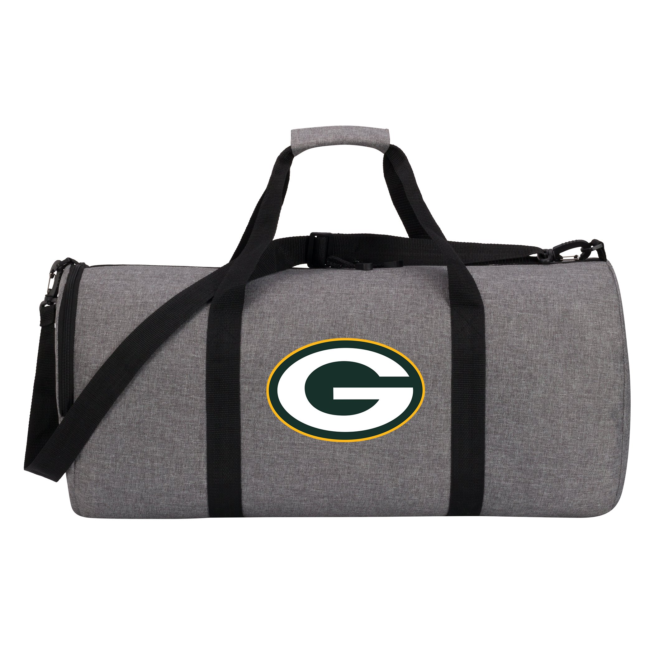 The Northwest Company NFL Green Bay Packers Duffel Bag, One Size, Gray