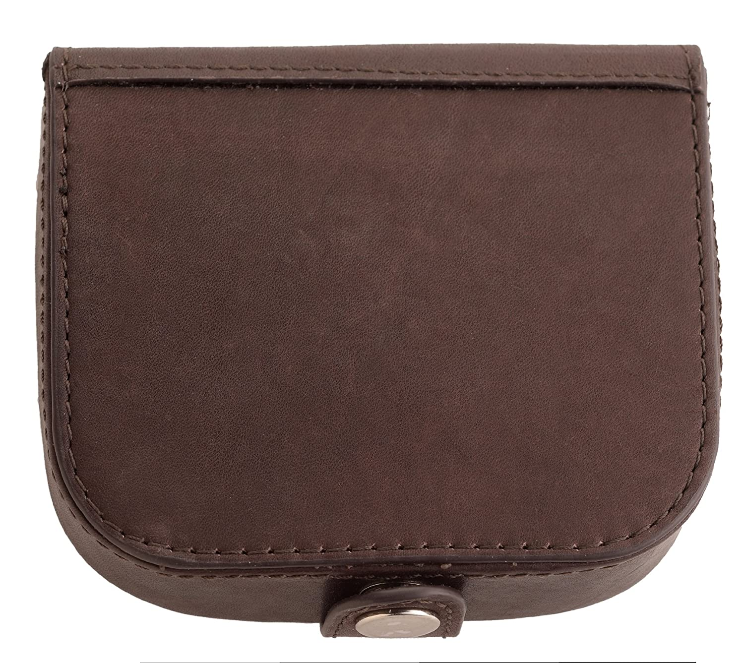 Super Soft Premium Grade Leather Tray - Coin Purse with Note Section in Black Arnicus
