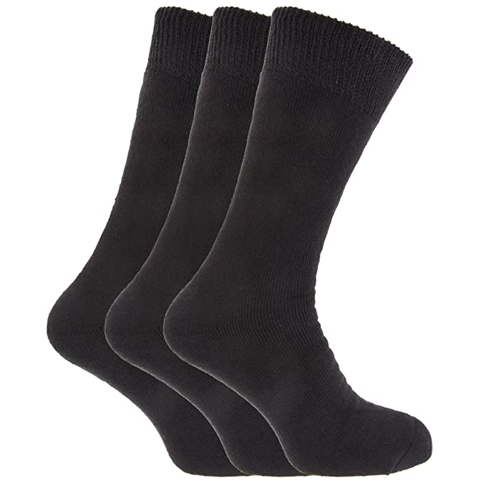 Calcetines termicos extra caliente para pies grande hombre caballero Tallas 45-49 EU (3