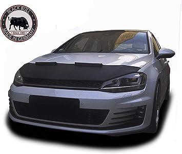 Steinschlagschutz Carbon Clean Black Bull Made In Germany Kompatibel Mit Golf 7 Tuning Haubenbra Automaske Car Bra Front Mask Cover Neu Auto