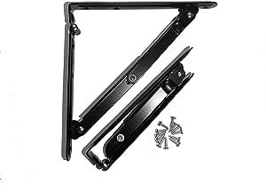 silla Acero inoxidable plegable soporte para estantes Max Load: 550lb//250kg 2pc mesa