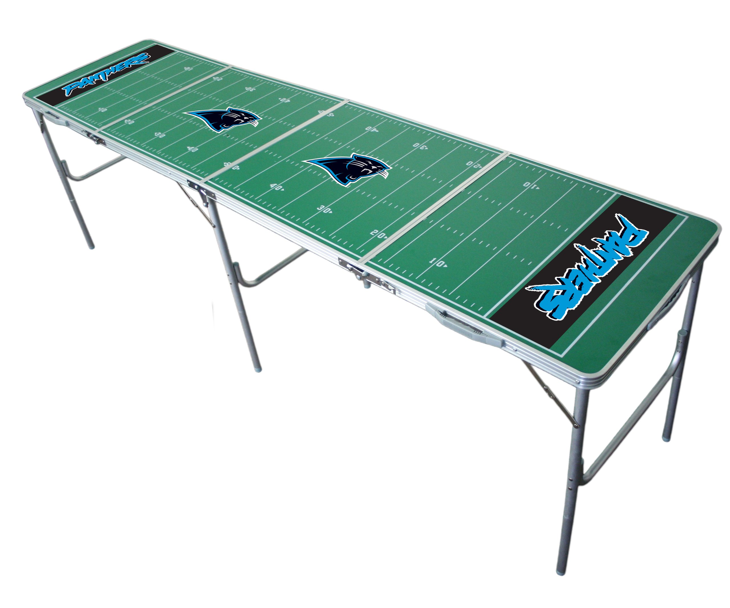 Carolina Panthers 2x8 Tailgate Table by Wild Sports by Wild Sports