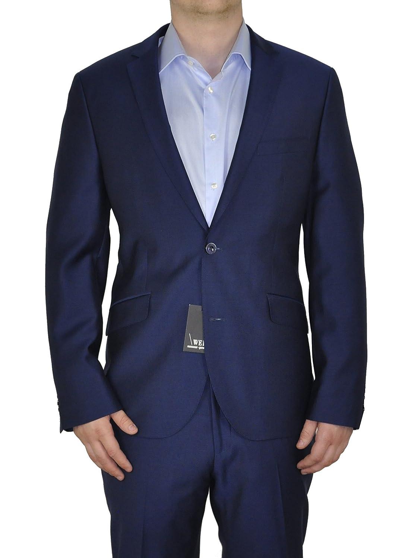 Giacca da uomo costruzioni in un nuovo blu, forma: Regular Fit, marca: Weis, Dario (art.:835 1510)