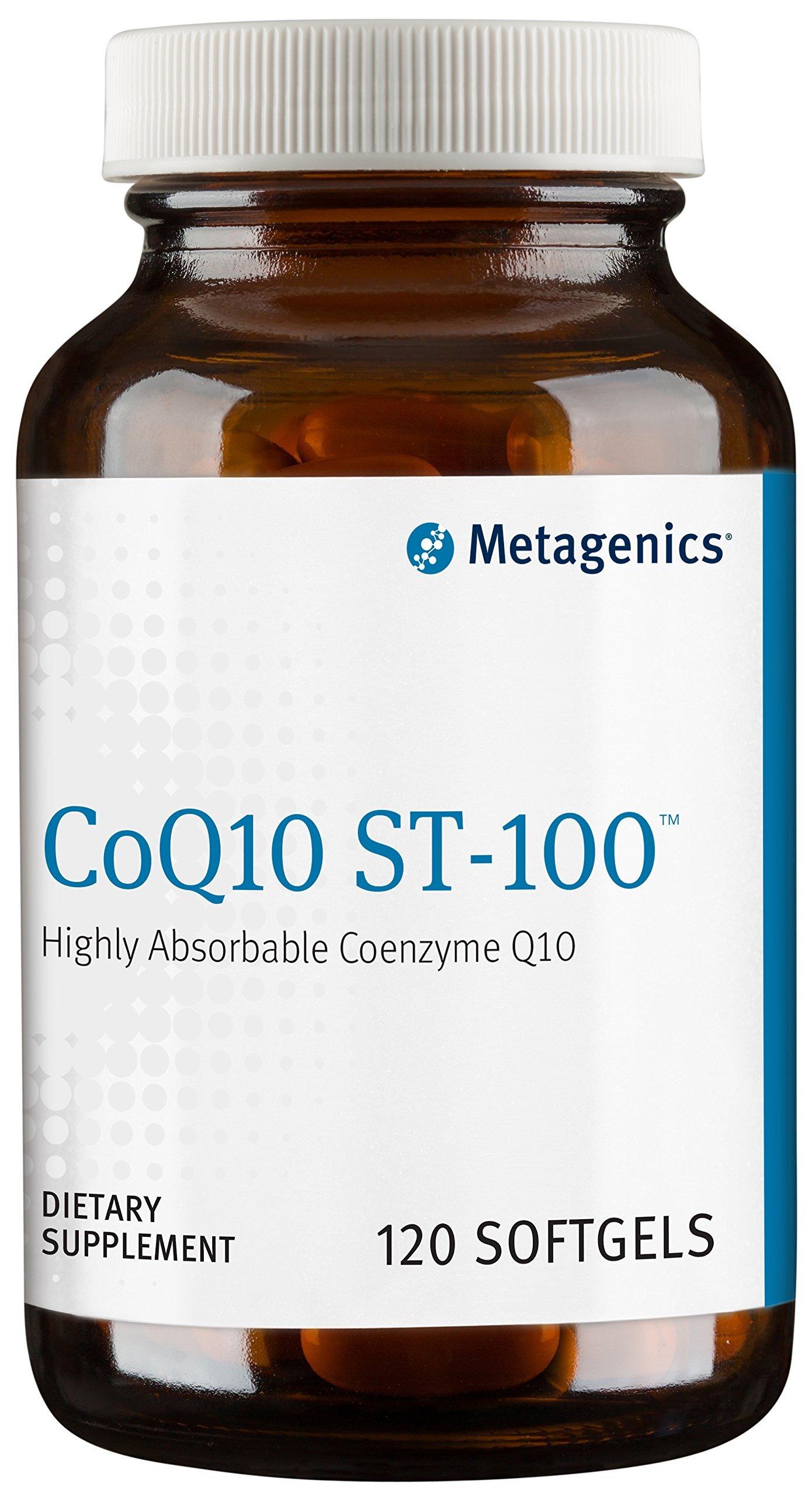 Metagenics CoQ10 ST-100 Softgel, 120 Count