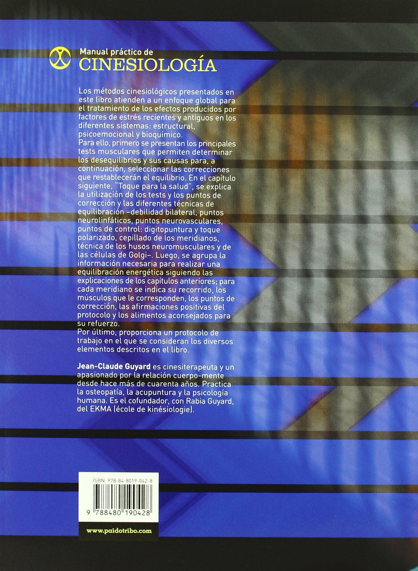 MANUAL PRÁCTICO DE CINESIOLOGÍA (Bicolor) (Spanish Edition ...