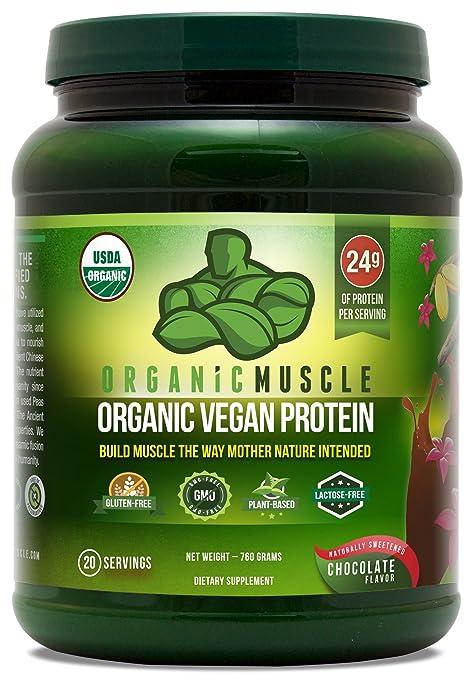 Organic Muscle Organic Vegan Protein