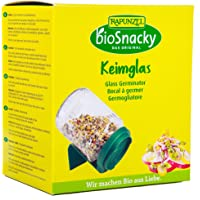 Vogel Biosnacky Keimglas Glass Seed Sprouter