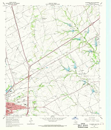 Amazon.com : YellowMaps Hillsboro East TX topo map, 1:24000 Scale ...