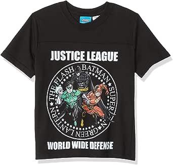 Warner Bros. Boys Boys Justice League Defense T-Shirt Short Sleeve T-Shirt