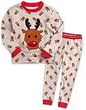 Amazon Price History for:Vaenait baby 12M-7T Kids Boys X-Mas Christmas Sleepwear Pajama 2pcs Set