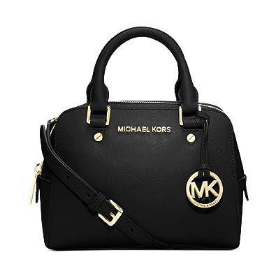 am beliebtesten bieten viel große Auswahl an Designs Michael Kors Jet Set Reisetasche/Handtasche, Schwarz, klein
