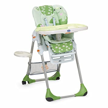 Chicco 4064837480000 Hochstuhl Polly 2 In 1 Design Water Lily