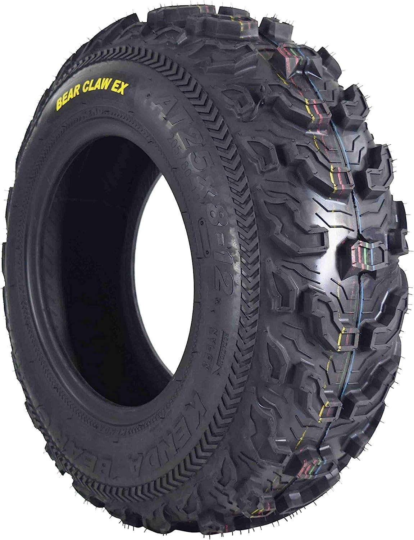 Kenda Bear Claw 25x8-12 K299 ATV Front 2 Pack Tires 6PLY Construction 25x8x12