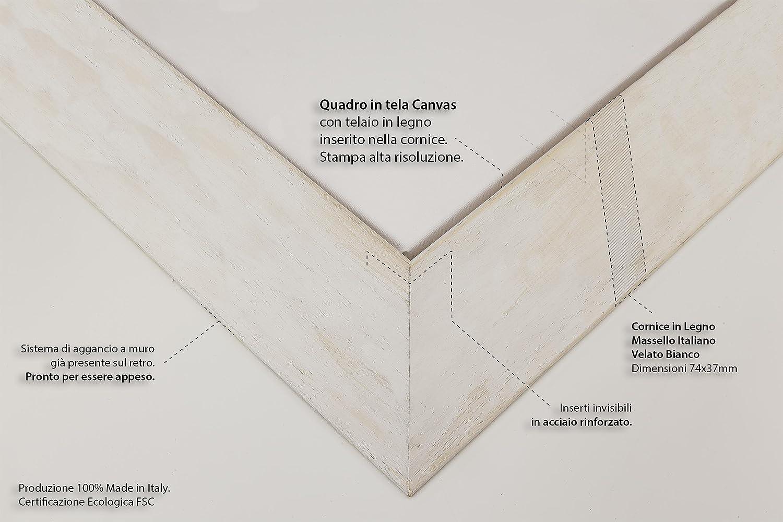 Provenza Francia Paesaggio PRONTO DA APPENDERE 30x40cm Leonid Afremov cod.3266 QUADRO SU TELA CANVAS Senza Cornice - INTELAIATO