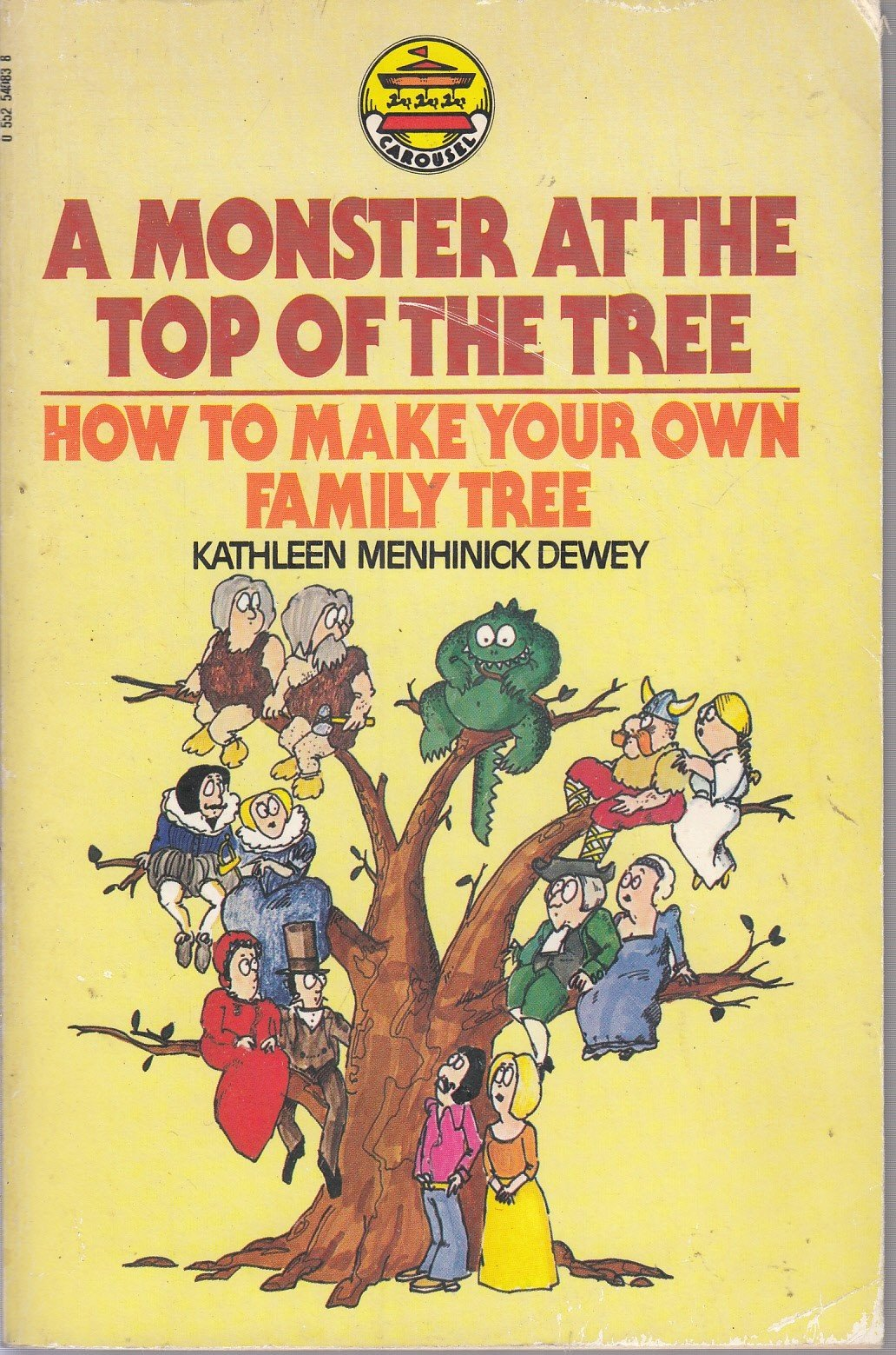 monster at the top of the tree how to make your own family tree