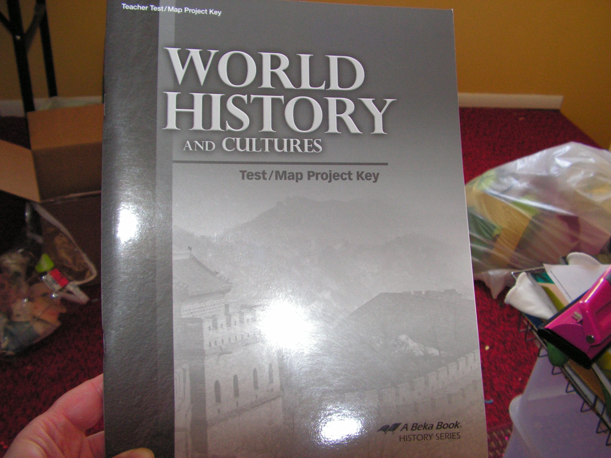 World history and cultures testmap project key a beka amazon world history and cultures testmap project key a beka amazon books gumiabroncs Gallery