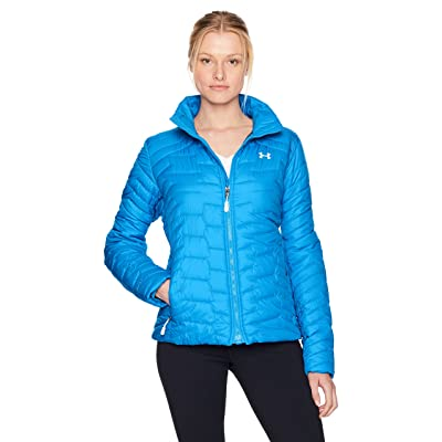 Under Armour Women's ColdGear Infrared Jacket, Cruise Blue/White, Small: Clothing