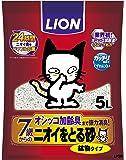 ニオイをとる砂 7歳以上用 鉱物タイプ 猫砂 5L